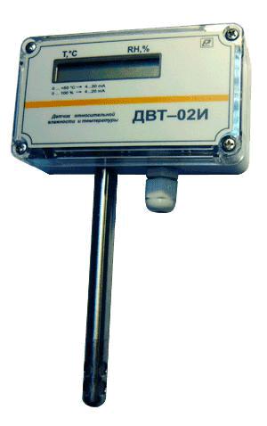 Термогигрометр ДВТ-02И