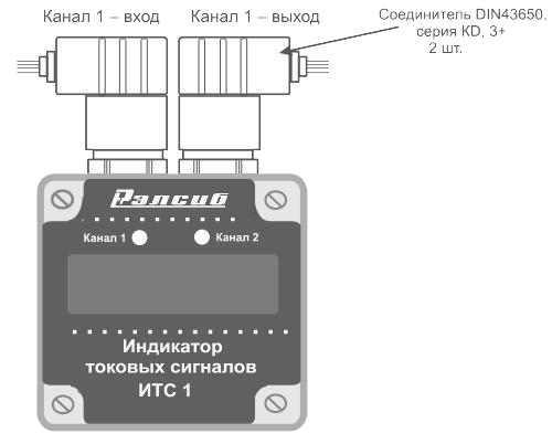 Индикатор токовых сигналов ИТС1-1