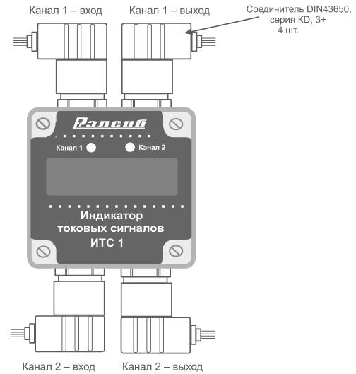 Индикатор токовых сигналов ИТС1-2