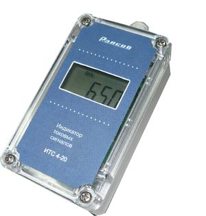 Двухканальный индикатор токовых сигналов ИТС 4-20
