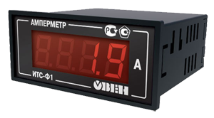Цифровой амперметр ИТС-Ф1