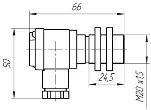 Пример применения ОПД-02М