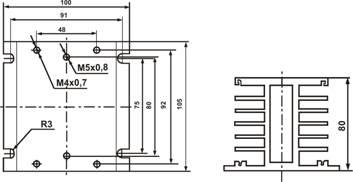 Радиатор охлаждения РТР034