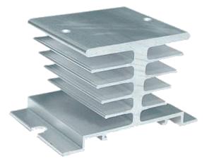 Радиаторы охлаждения серии РТР для твердотельных реле