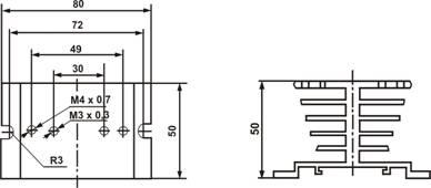 Радиатор охлаждения РТР060