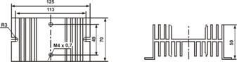 Радиатор охлаждения РТР061