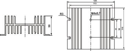 Радиатор охлаждения РТР062