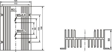 Радиатор охлаждения РТР063