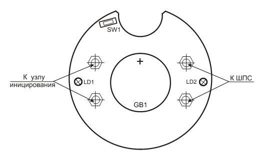Схема подключения УПТ-01