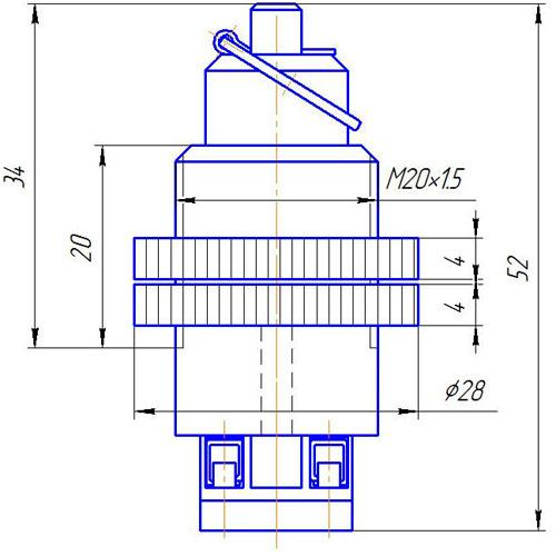 Устройство пусковое ручное УПР-01